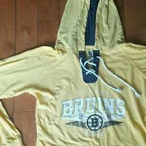 NHL Bruins Hooded Tee